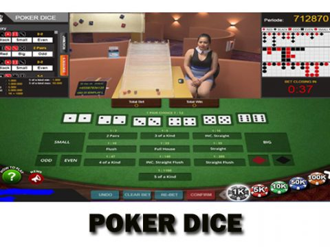 Poker Dice Games IDN Live